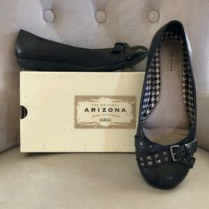 [PRICE FIRM] Arizona Studded Flats